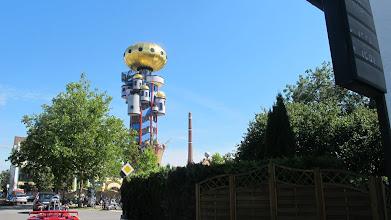 Photo: Hundertwasser Turm in Abensberg