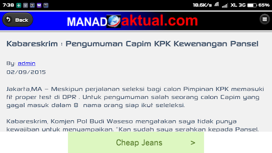 Manado Aktual screenshot 4