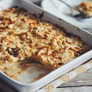 Vegan Scalloped Potatoes →.