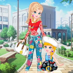 Mother's Day Matching Dress for PC and MAC