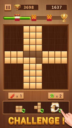 Wood Block - Classic Block Puzzle Game apktram screenshots 3