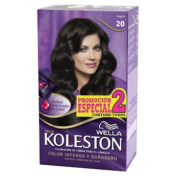 Tinte Wella Koleston   Negro N° 20  X 1Und Promocion Especial 2 Tubos