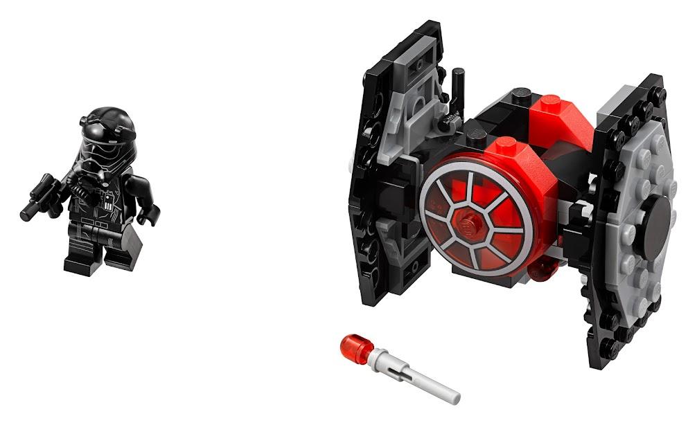 Contenido de Lego® 75194 Caza TIE de la Primera Orden