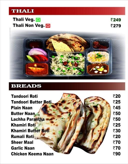 Nazeer Foods menu 3
