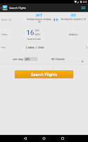 Screenshot of Aerobilet - Flights, hotels