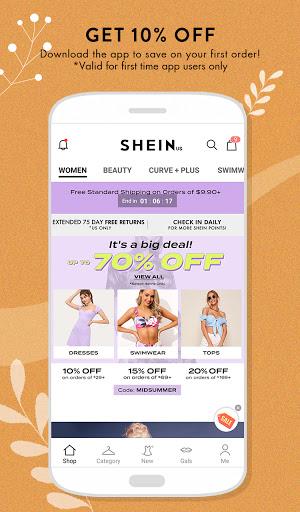 SHEIN-Fashion Shopping Online 7.2.4 Screenshots 1