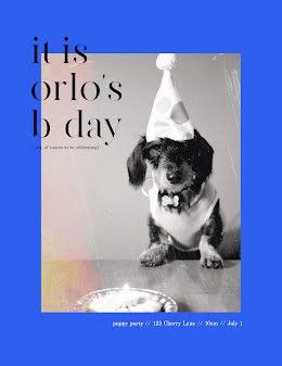 Happy BDay Orlo - Birthday Flyer item