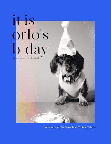 Happy BDay Orlo - Birthday Template