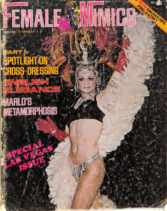 Autumn 1974 Issue of Female Mimics