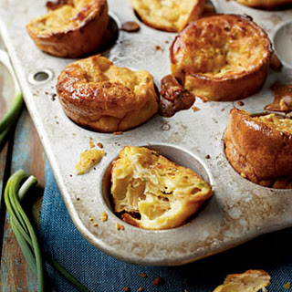 Caramelized Onion and Swiss Popovers
