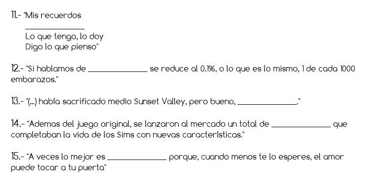 Frases 11-15