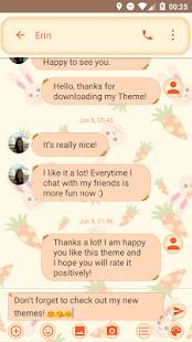 Cute Carrot SMS Zprávy - náhled