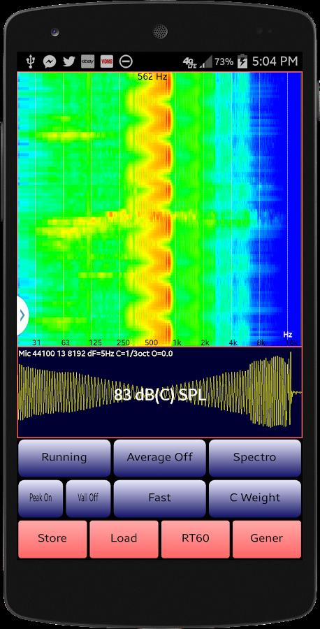 AudioTool- screenshot