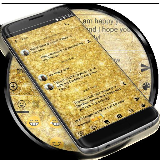 SMS Messages Glitter GoldGlass