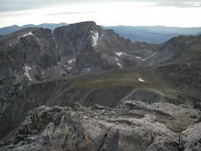 Photo: McHenrys Peak from Mount Alice.
