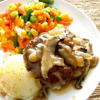 Crock Pot Salisbury Steak.