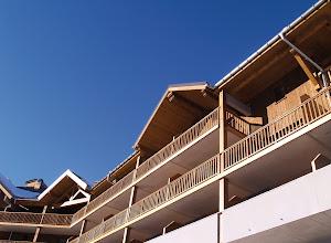 Photo: Façade de la résidence