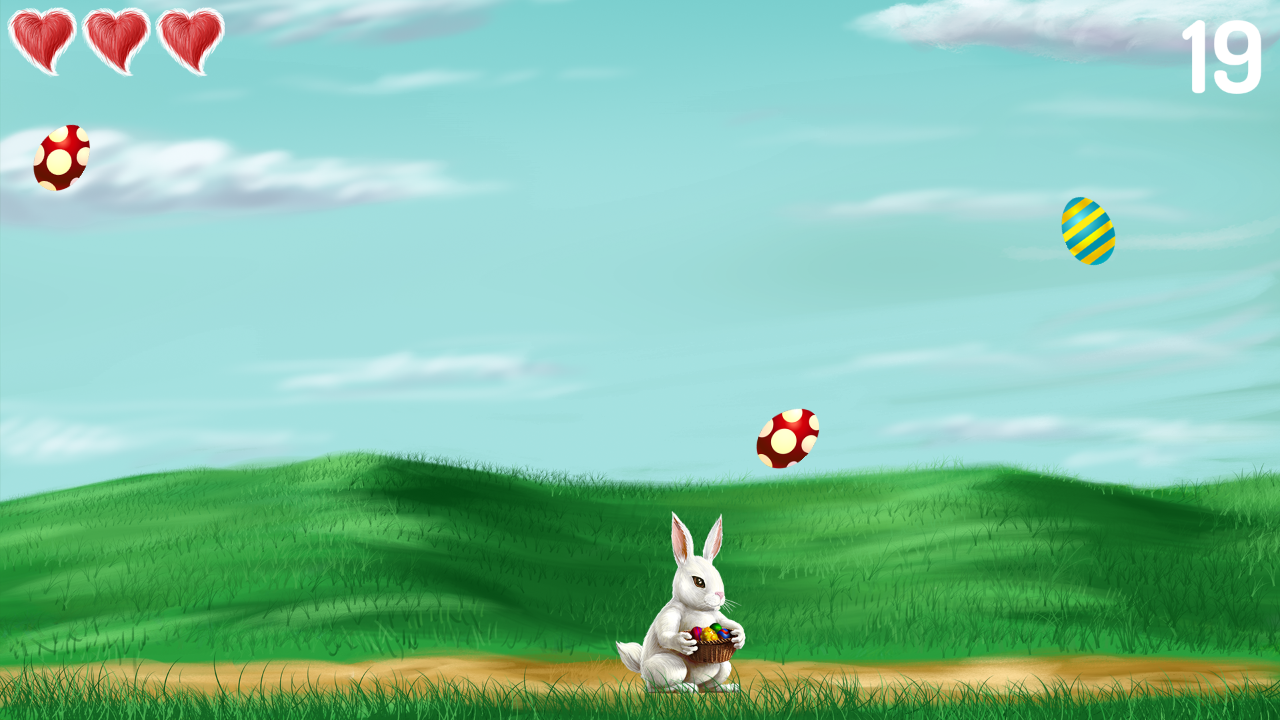 Bunny Rabbit Eggs Collector- screenshot
