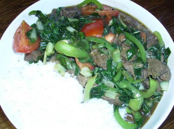 Oriental Beef With Ginger