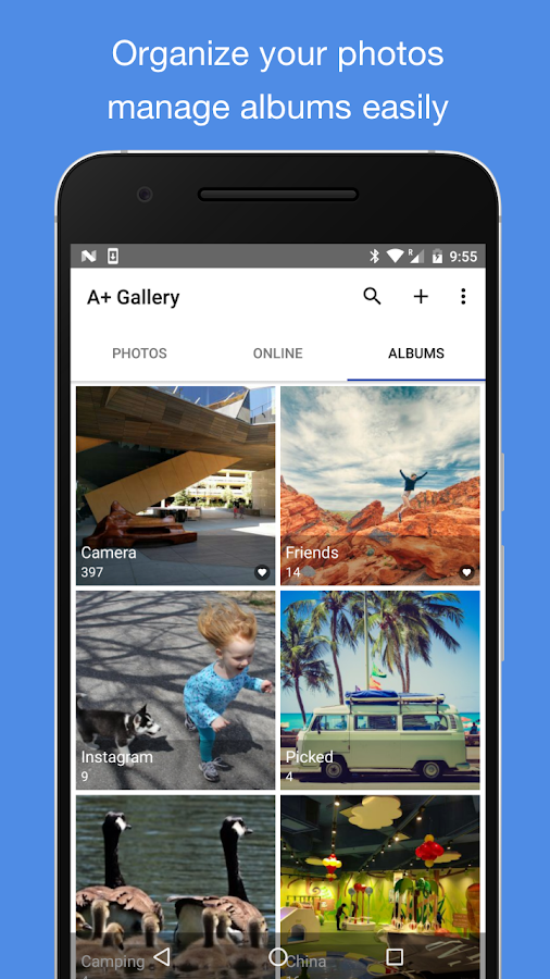A+ Gallery - Photos & Videos- screenshot