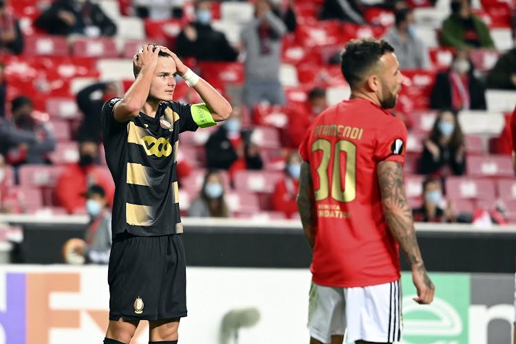 Le Standard de Liège impuissant à Benfica
