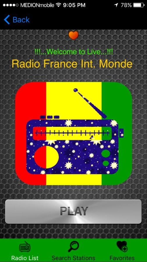Guinea Radio- screenshot