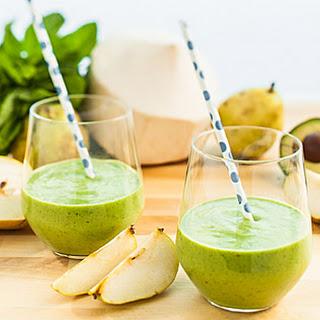 Pear-licious (Green Drink).