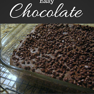 Easy Chocolate Snack Cake