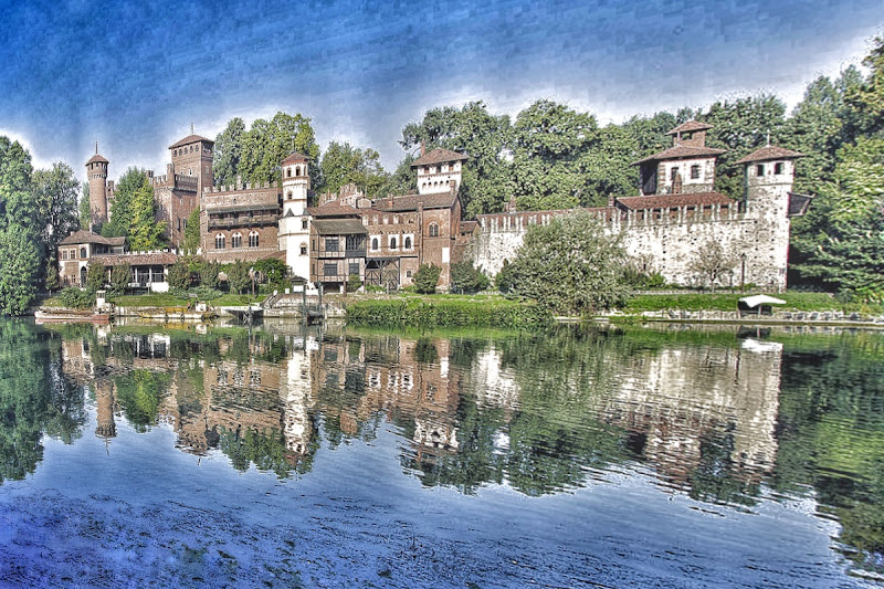 Borgo medievale Torino  di gianluca_girardi