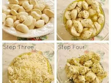 Garlic Cheese Pull Apart Bread with Frozen Bread Dough