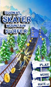 Subway Skater Mountain Surfer screenshot 11