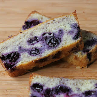 Yuzu Blueberry Pound Cake.