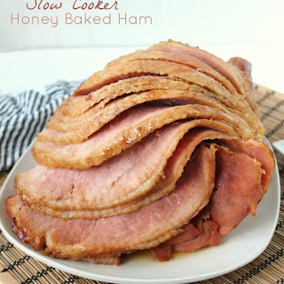 Slow Cooker Honey Baked Ham