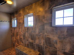 Photo: Custom shower in the HAMILTON