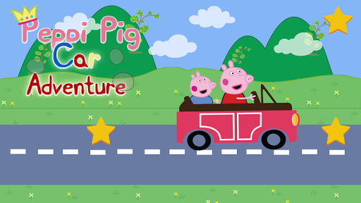 Peppi Pig Racing Car