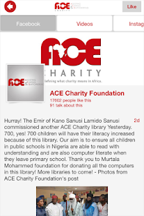 ACE Charity Africa - náhled