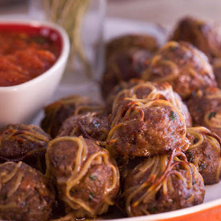 Broken Spaghetti Meatballs