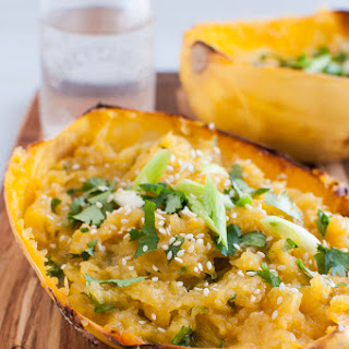 Spaghetti Squash With Ginger Recipes