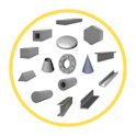 Fabrication Weight and Cost Calculator icon