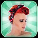 Retro Hair Style Photo Editor icon