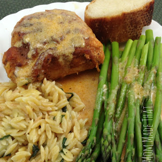 Chicken Cordon Bleu {Emily's Version}
