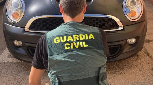 Recuperan en Aguadulce un coche que había sido robado en Madrid