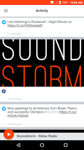 Soundstorm - Relax Radio- screenshot thumbnail