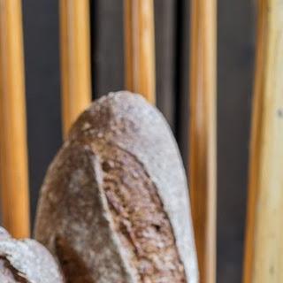 Black Whole Wheat Sourdough Bread