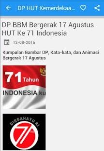 DP HUT Kemerdekaan Indonesia - náhled