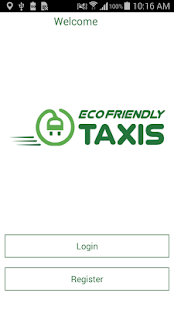 Eco Friendly Taxis Booking App- screenshot thumbnail