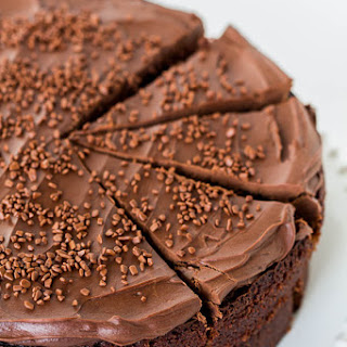 Ina's Chocolate Cake with Mocha Frosting