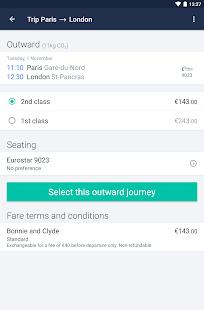 Captain Train: train tickets Screenshot 17