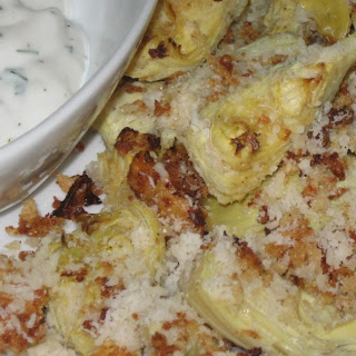 Crispy Artichoke Hearts with Dipping Sauce