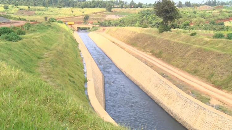 One of the components of the giant Thiba Dam project